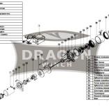 Лебедка 8000 Dragon Winch 8000HD на джип, внедорожник, багги