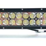 Фара, прожектор, светодиодная балка для квадроциклов, багги, джипов — ExtremeLED E026  72W  35см дальний + ближний свет