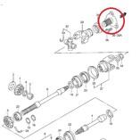 Приводной вал на квадроцикл Suzuki Vinson 500  (27150-03G10)