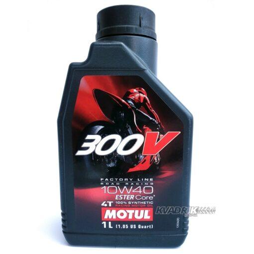 Гоночное моторное масло MOTUL 300V 4T Factory Line 10W40 для квадроциклов и другой мототехники