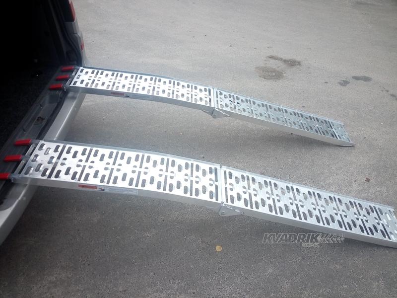 Мы начинаем продажи алюминиевых складных трапов для квадроциклов