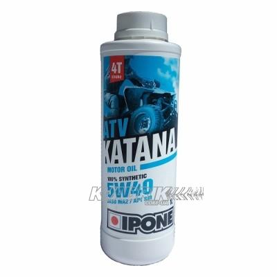 Синтетическое масло для квадроцикла IPONE ATV KATANA 5w40 1L