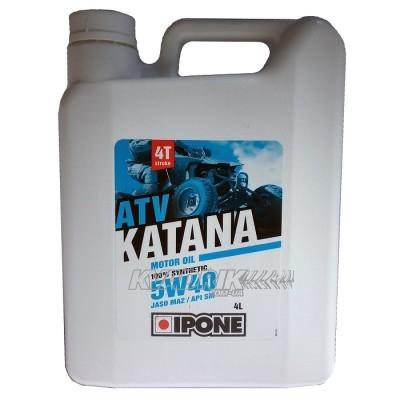 Синтетическое масло для квадроцикла IPONE ATV KATANA 5w40 4L