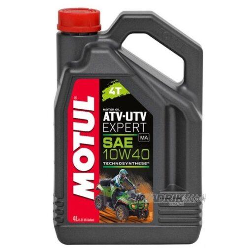 Синтетическое моторное масло для квадроциклов Motul ATV-UTV Expert 10w40