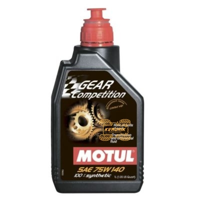 Масло для редукторов и коробок передач MOTUL Gear Competition 75W140