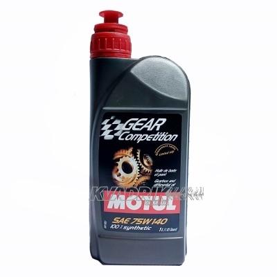 Масло для дифференциалов и коробок передач Motul Gear Competition 75w140