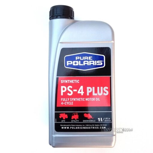 Синтетическое моторное масло Polaris Fully Synthetic Motor Oil PS-4 PLUS