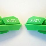 Защита рук на квадроцикл фирмы X-ATV модель YC-408GREEN
