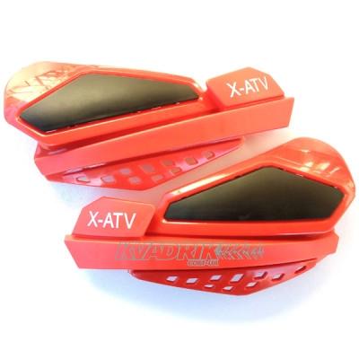 Защита рук на квадроцикл фирмы X-ATV модель YC-408RED