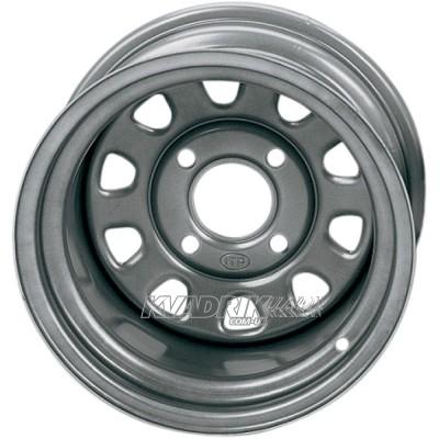 Стальной колесный диск на квадроцикл ITP Steel Delta Silver