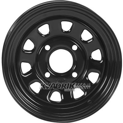 Стальной колесный диск на квадроцикл ITP Steel Delta Black