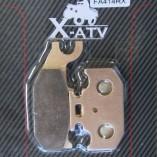 Передние правые тормозные колодки для квадроцикла SUZUKI KING QUAD 400/450/500/700/750 —X-ATV FA414RX DB 2164