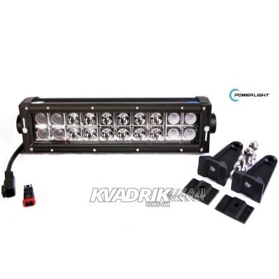 Фара, прожектор, светодиодная балка для квадроцикла PowerLight PL-ULB60-C  60W  338мм