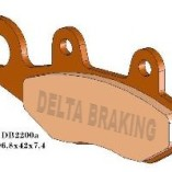 Передние тормозные колодки для квадроцикла Сan- Am Commander, Can- Am Maverick, Kawasaki Bruteforce, Yamaha Raptor — DELTA DB2200