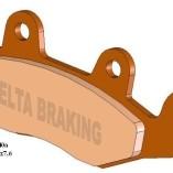 Передние тормозные колодки для квадроцикла YAMAHA RAPTOR 700 / KAWASAKI BRUTEFORCE   — DELTA  DB 2340