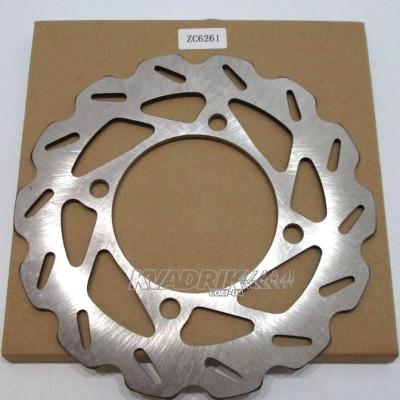 Тормозной диск передний SUZUKI KINGQUAD 450, 500, 700, 750 без усилителя руля (59211-31G00, 59211-31G10)