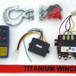 Лебедка для квадроциклов TITANIUM ARCTICA 3500