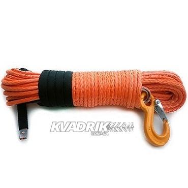 Трос для лебедки кевларовый 8мм 30м