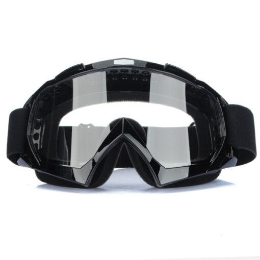 Очки X-ATV черные, прозрачные