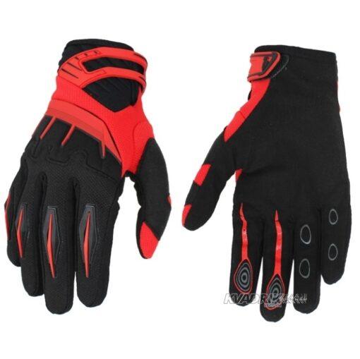 Перчатки летние Spectrum черно-красные