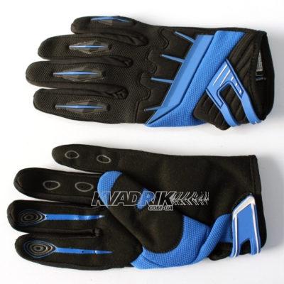 Перчатки летние Spectrum черно-синие