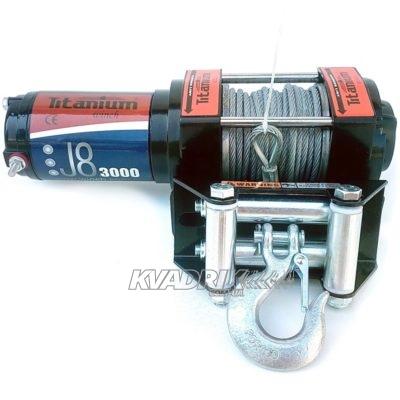 Лебедка для квадроцикла Titanium J8 3000 lbs (1361 кг)