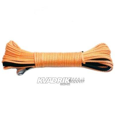 Кевларовый трос 4мм 15м для лебедки 2000lbs