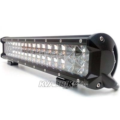 Прожектор, фара для квадроцикла, багги, джипа, внедорожника - PowerLight BK03-180  180W  445х110х65мм дальний свет с 4D линзами OSRAM