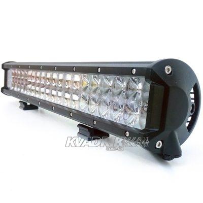 Прожектор, фара для квадроцикла, багги, джипа, внедорожника - PowerLight BK03-210  210W  510х110х65мм дальний свет с 4D линзами OSRAM