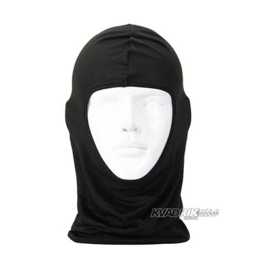 Подшлемник с открытым лицом черный