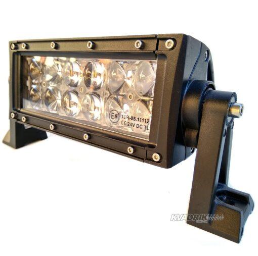LED прожектор, фара для квадроцикла - ExtremeLED E047 36W 27см дальний свет с 4D линзами OSRAM
