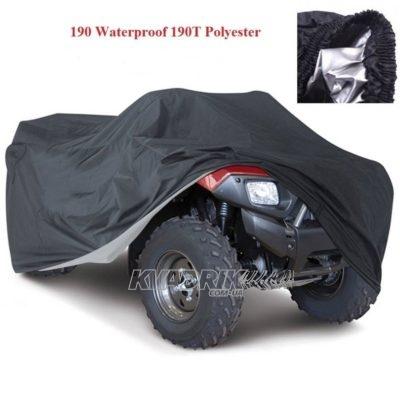 Чехол на квадроцикл ATV Logic черный XXXL  (230x130x130см