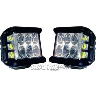 Комплект из 2 фар, прожекторов для квадроцикла, багги или джипа - ExtremeLED L061 45W  10см ближний свет