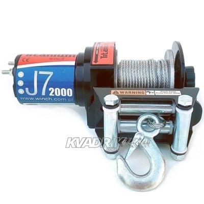 Лебедка для квадроцикла Titanium J7 2000 lbs (907 кг)