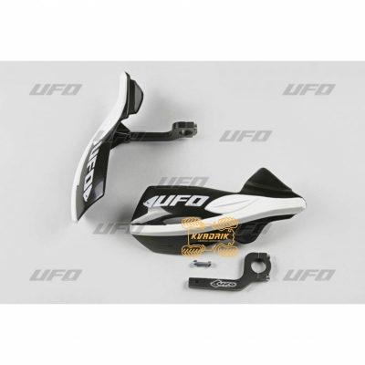 Защита рук для квадроцикла UFO Patrol с креплением. Цвет черный