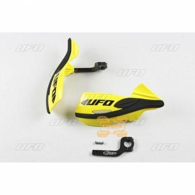 Защита рук для квадроцикла UFO Patrol с креплением. Цвет желтый