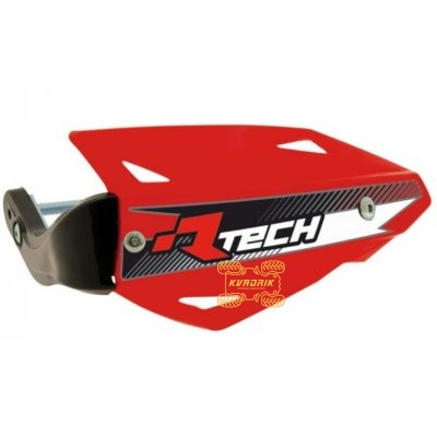 Защита рук для квадроцикла RACETECH VERTIGO (Рейстек Вертиго) цвет красный