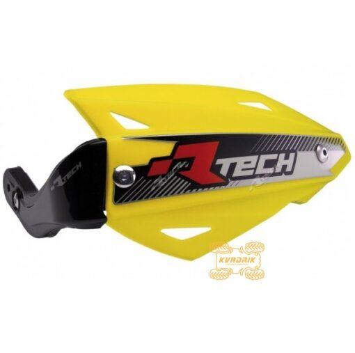 Защита рук для квадроцикла RACETECH VERTIGO (Рейстек Вертиго) цвет желтый