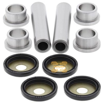 Ремкомплект задних рычагов (втулки / сайлентблоки) Yamaha RHINO 450/660/700, Kodiak 400/450 05-06, KODIAK 450 18, KODIAK 700 16-18, Grizzly 350/400/450/550/660/700  AllBalls 50-1034-K