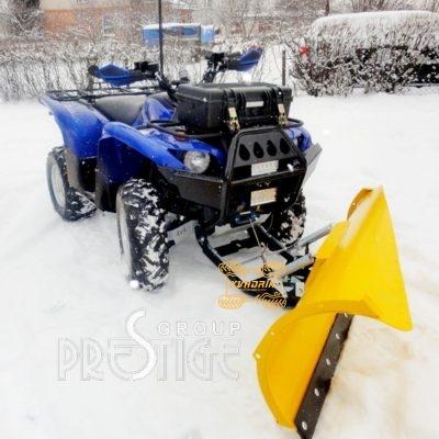 Снегоотвал асиметричный для квадроцикла Can Am REENGADE 1000 G2 150х55см с передним быстрым креплением