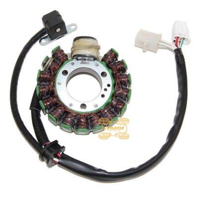 Статор на квадроцикл Yamaha YFB250 Timberwolf (94-00), YFM250 Bear Tracker (99-00) ESG421 4BD-85510-20-00