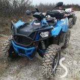 Кенгурятник передний для квадроцикла (черный) POLARIS Scrambler 850/1000