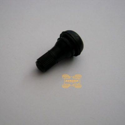 Вентиль короткий хромированый (черный) SX ALLOY для квадроциклов