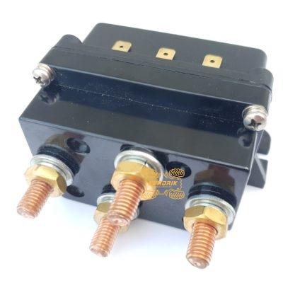 Соленоид (контактор) для лебедки 450A/12V, МОНОБЛОК (вперед/назад)