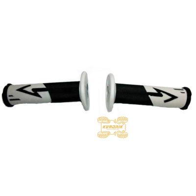 Ручки для квадроцикла (для рулей диаметром 22мм) X-ATV цвет серый