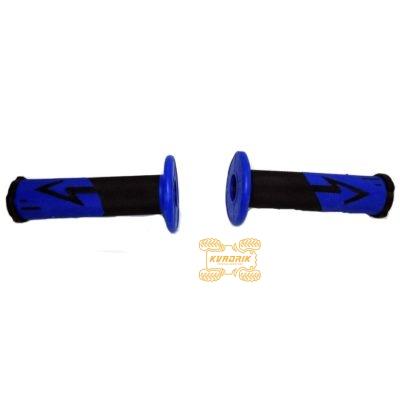 Ручки для квадроцикла (для рулей диаметром 22мм) X-ATV цвет синий