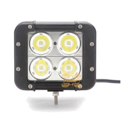 Прожектор, фара для квадроцикла или багги - ExtremeLED EL-1120-40  12,7см 4x10W CREE LED XM-L дальний свет
