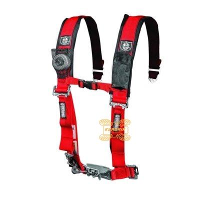 """Ремни безопасности для багги, авто 4-х точечные 2"""" Proarmor (красный)  A114220RD"""