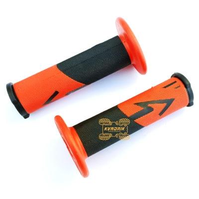 Ручки для квадроцикла (для рулей диаметром 22мм) X-ATV цвет красно-черный
