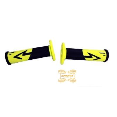 Ручки для квадроцикла (для рулей диаметром 22мм) X-ATV цвет желтый
